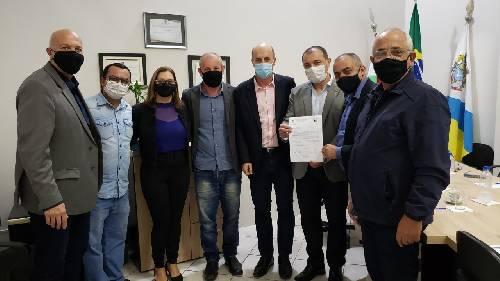 Balneário Arroio do Silva recebe a visita do Governador do Estado