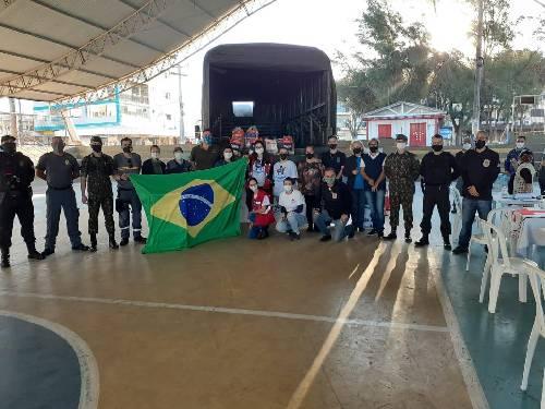 Balneário Arroio do Silva recebe equipe Multi-Institucional