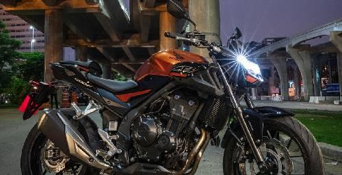 Honda CB500F 2020