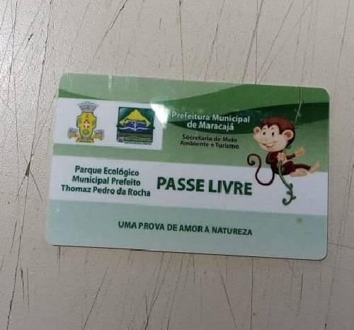 Moradores de Maracajá devem fazer carteirinha para ter acesso gratuito ao Parque Ecológico