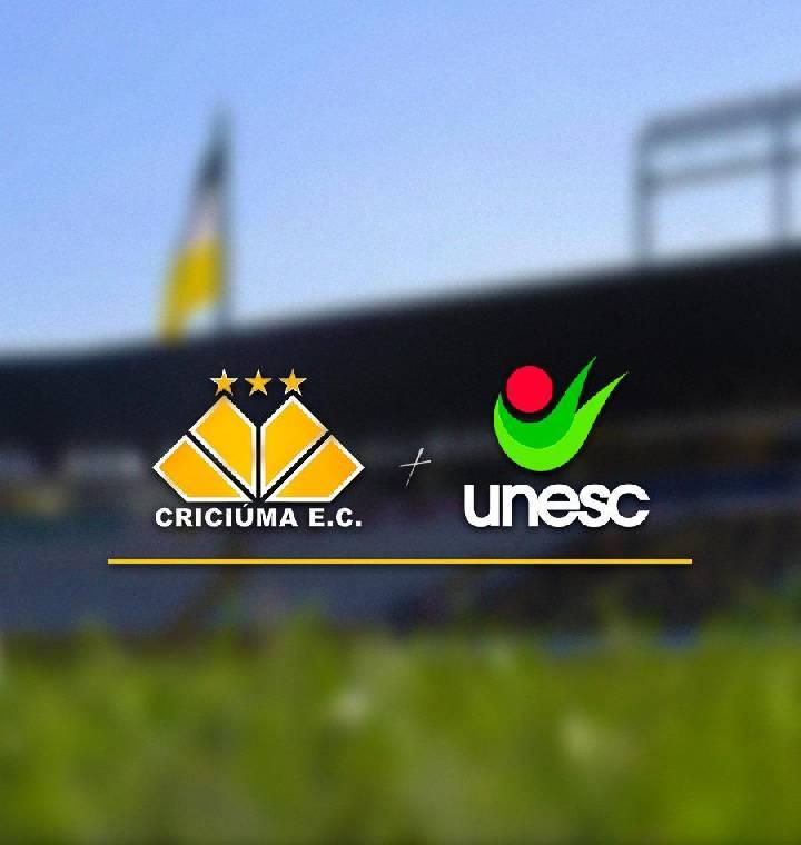 Unesc e Criciúma Esporte Clube firmam parceria e se unem em prol do desenvolvimento da cidade